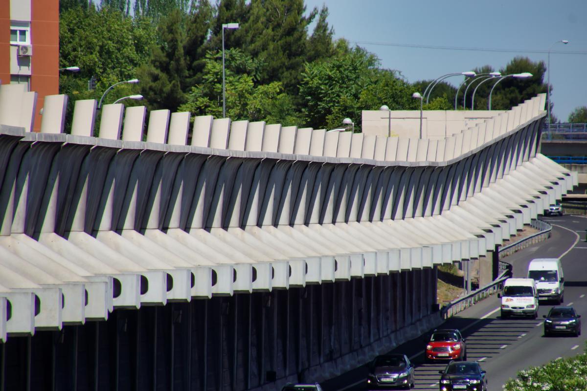 Pinar del Rey Noise Reduction Barrier (M-40)