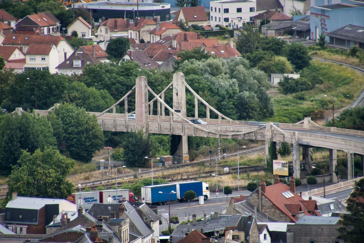 Hängebrücke Laon