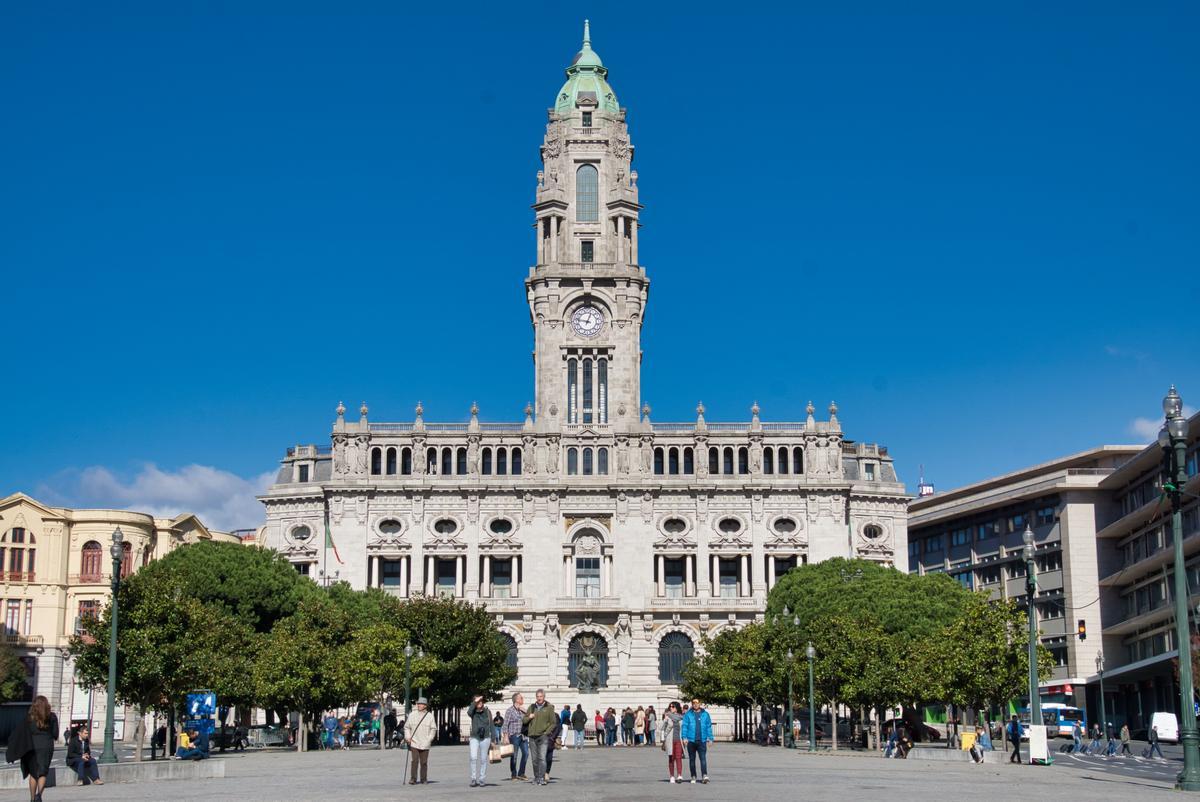 Rathaus von Porto