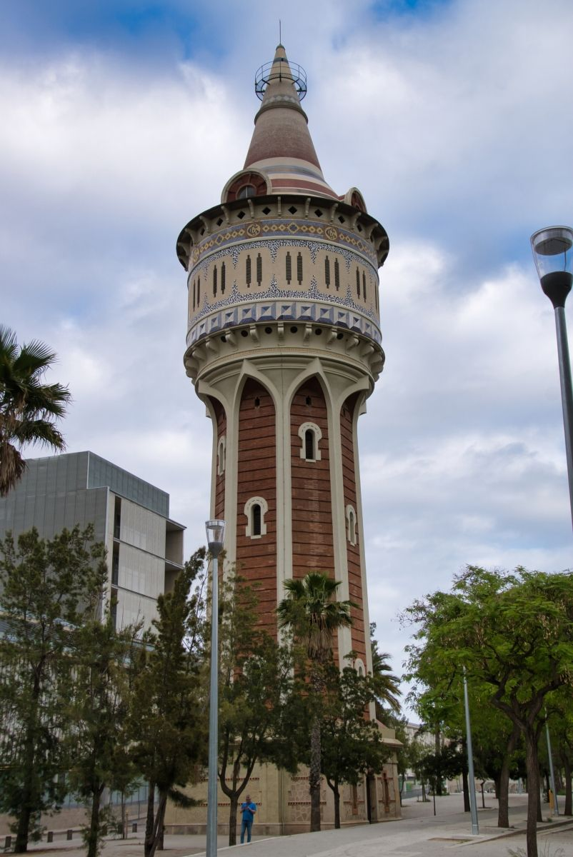 Catalana de Gas Water Tower
