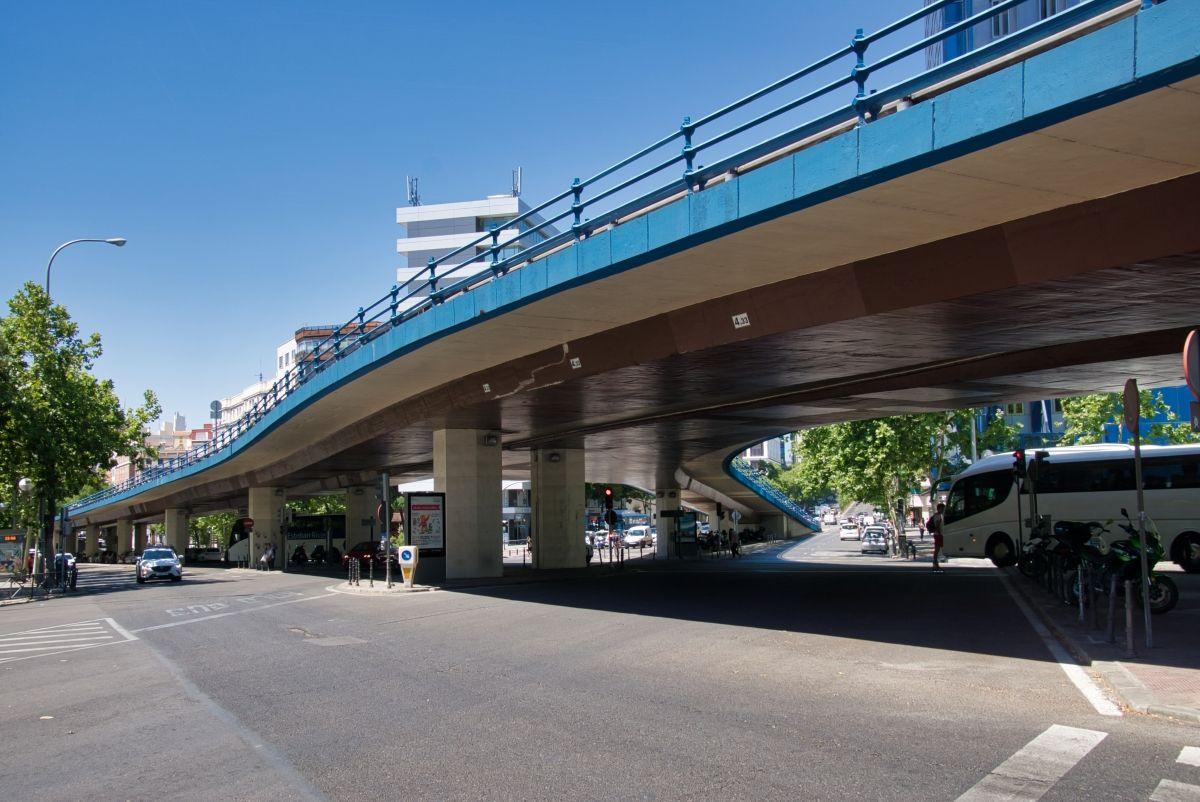 Hochstraßenbrücke Francisco Silvela-Joaquin Costa