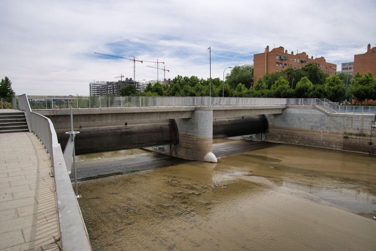 Barrage no. 9 sur le Manzanares