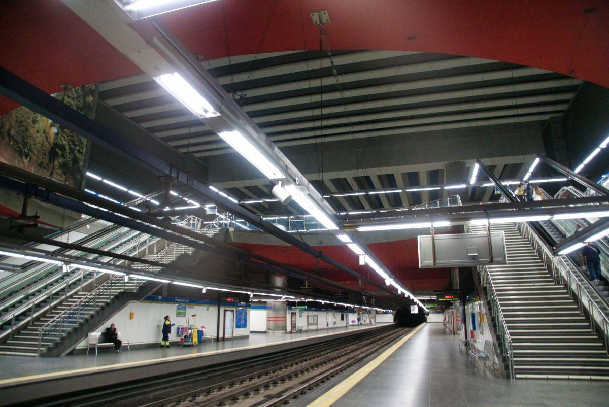 Puerta del Sur Metro Station