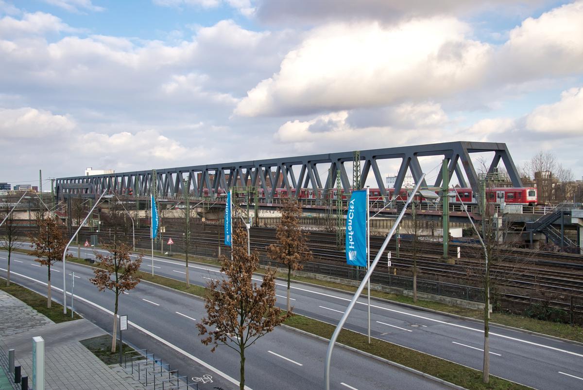 Billhafen S-Bahn Bridge