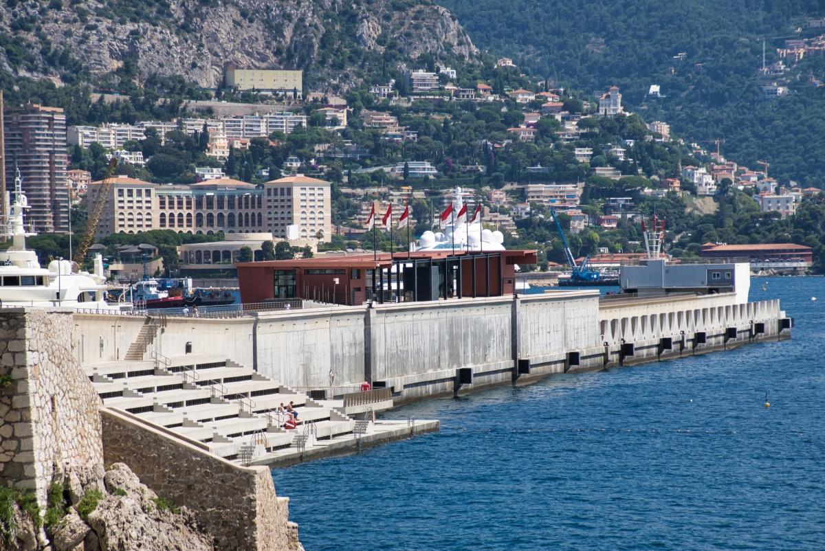 Port de la Condamine Embankment