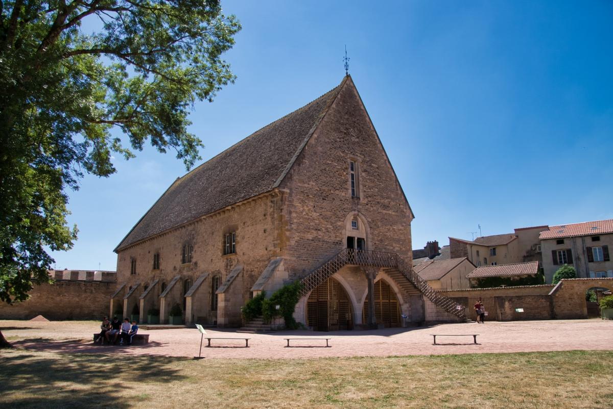 Getreidespeicher de Abtei von Cluny