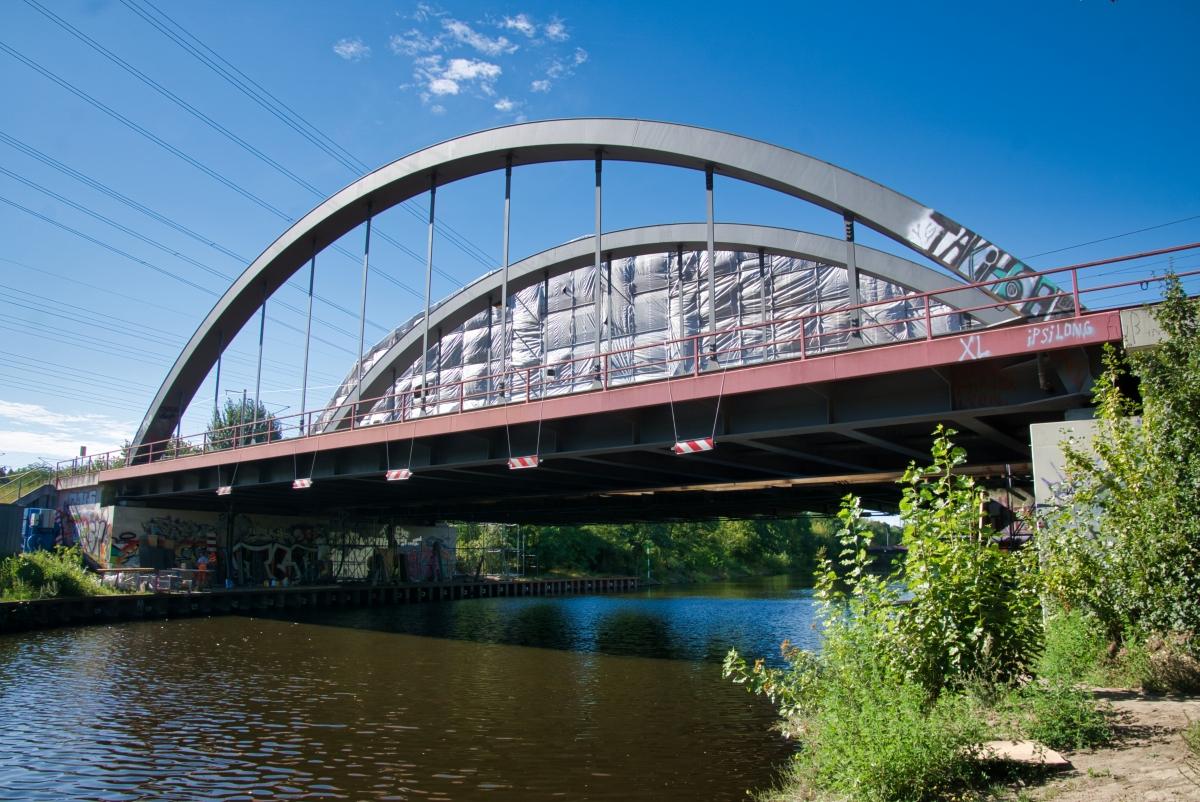 Eisenbahnbrücken Baumschulenweg