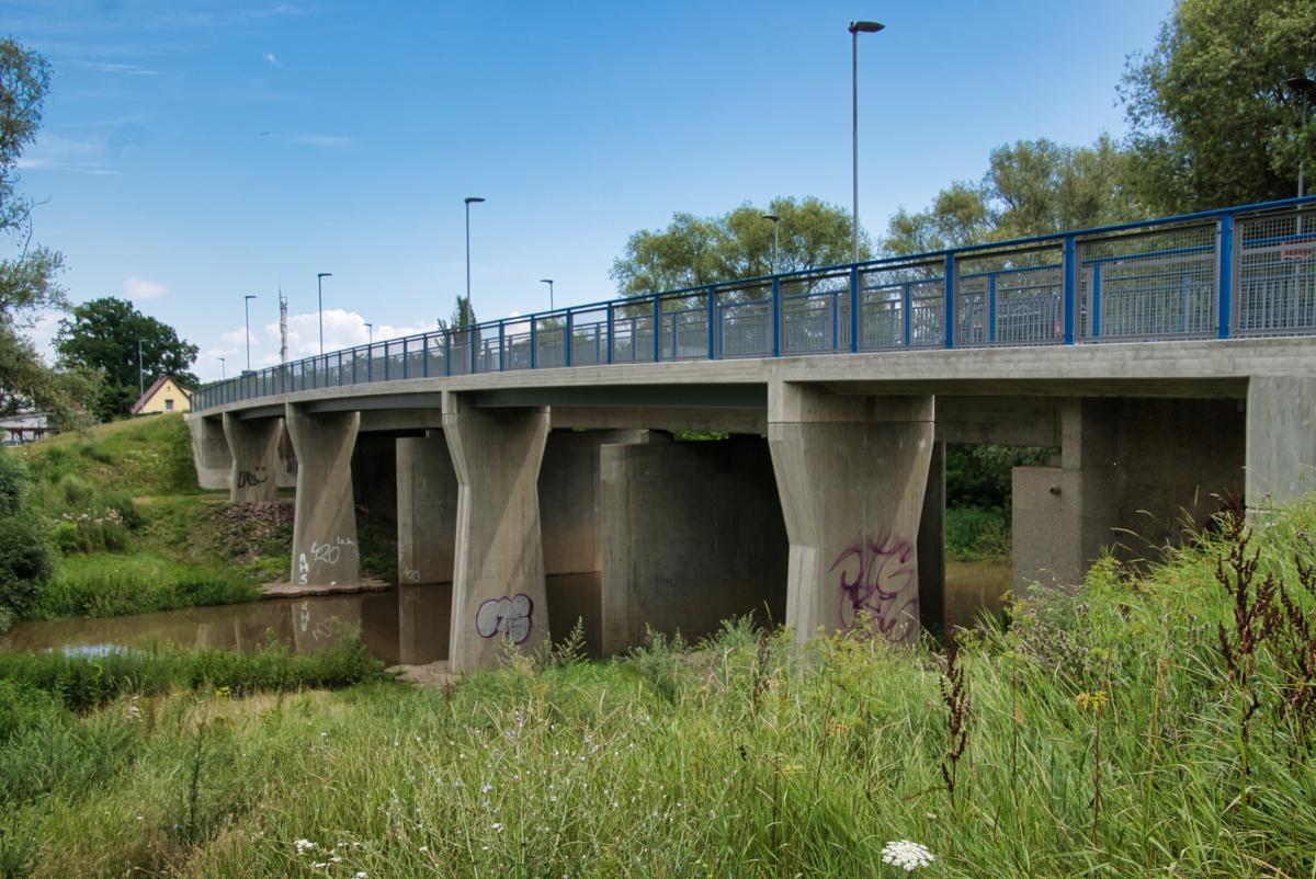 Radwegbrücke Merseburg