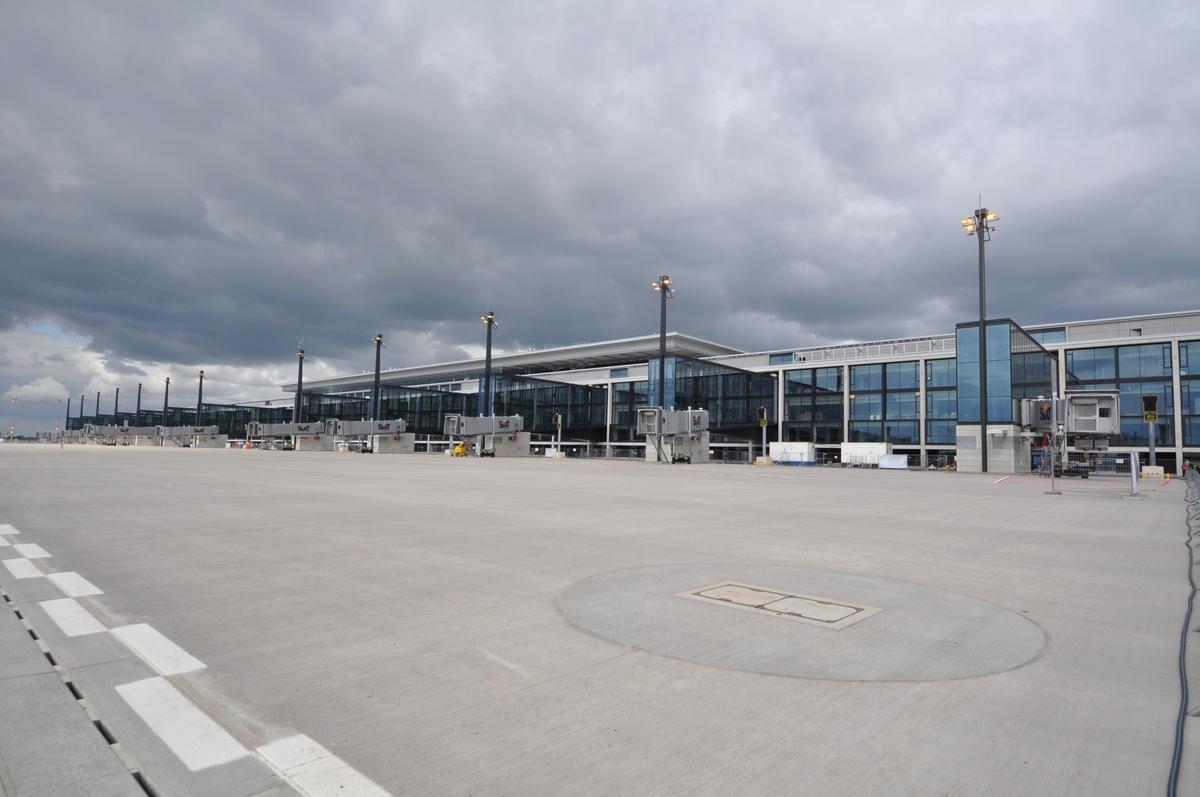 Berlin Brandenburg International Airport Terminal Building