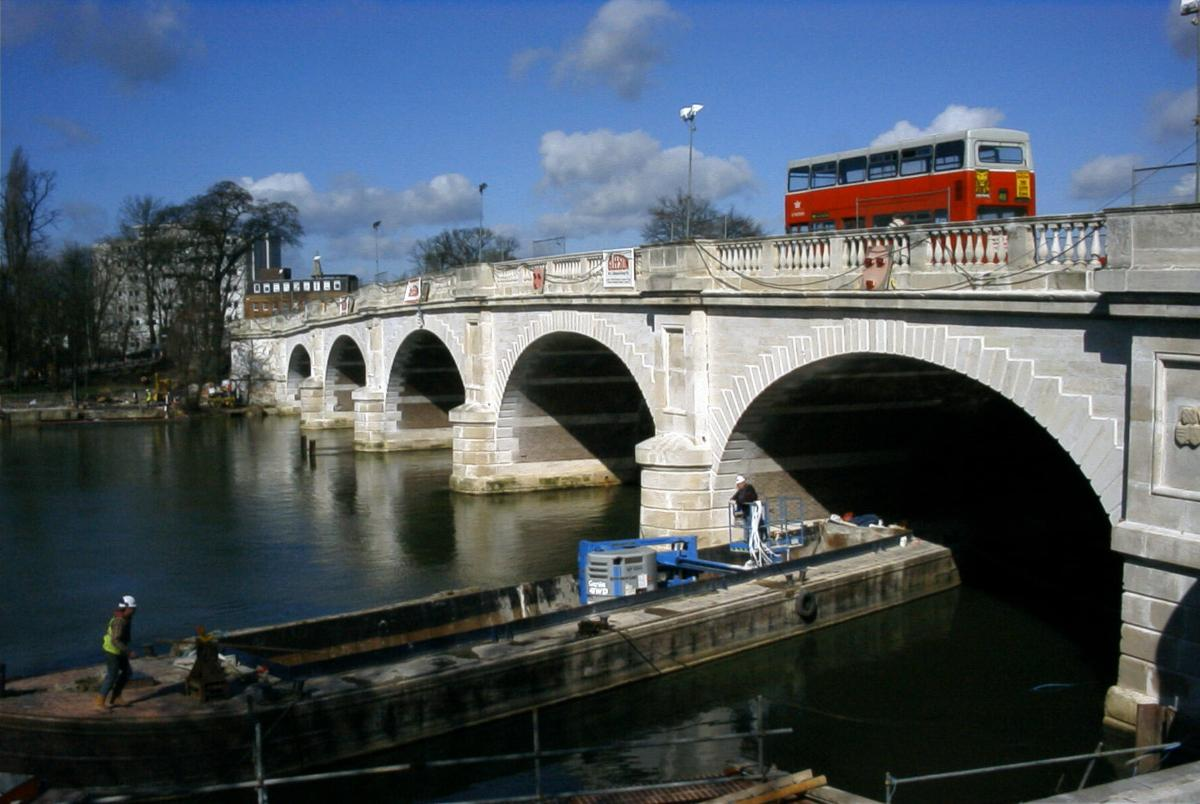 Kingston Bridge, Kingston-Upon-Thames.