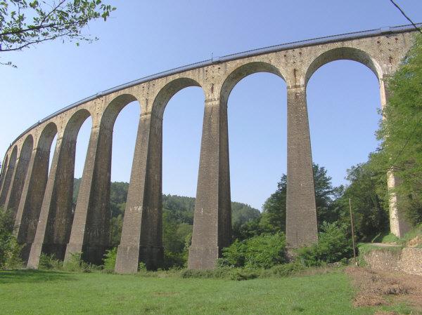 Viaduc de ChamborigaudPont railChamborigaudGard
