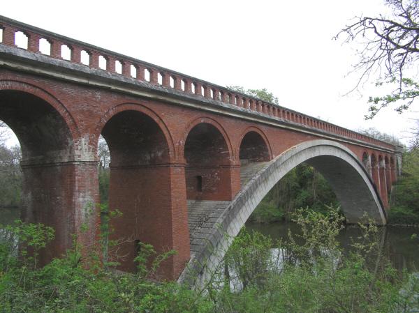 Pont Antoinette (pont-rail), Vielmur-sur-Agoût