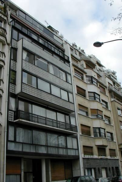 24 rue Nungesser et Coli, Paris, von Le Corbusier