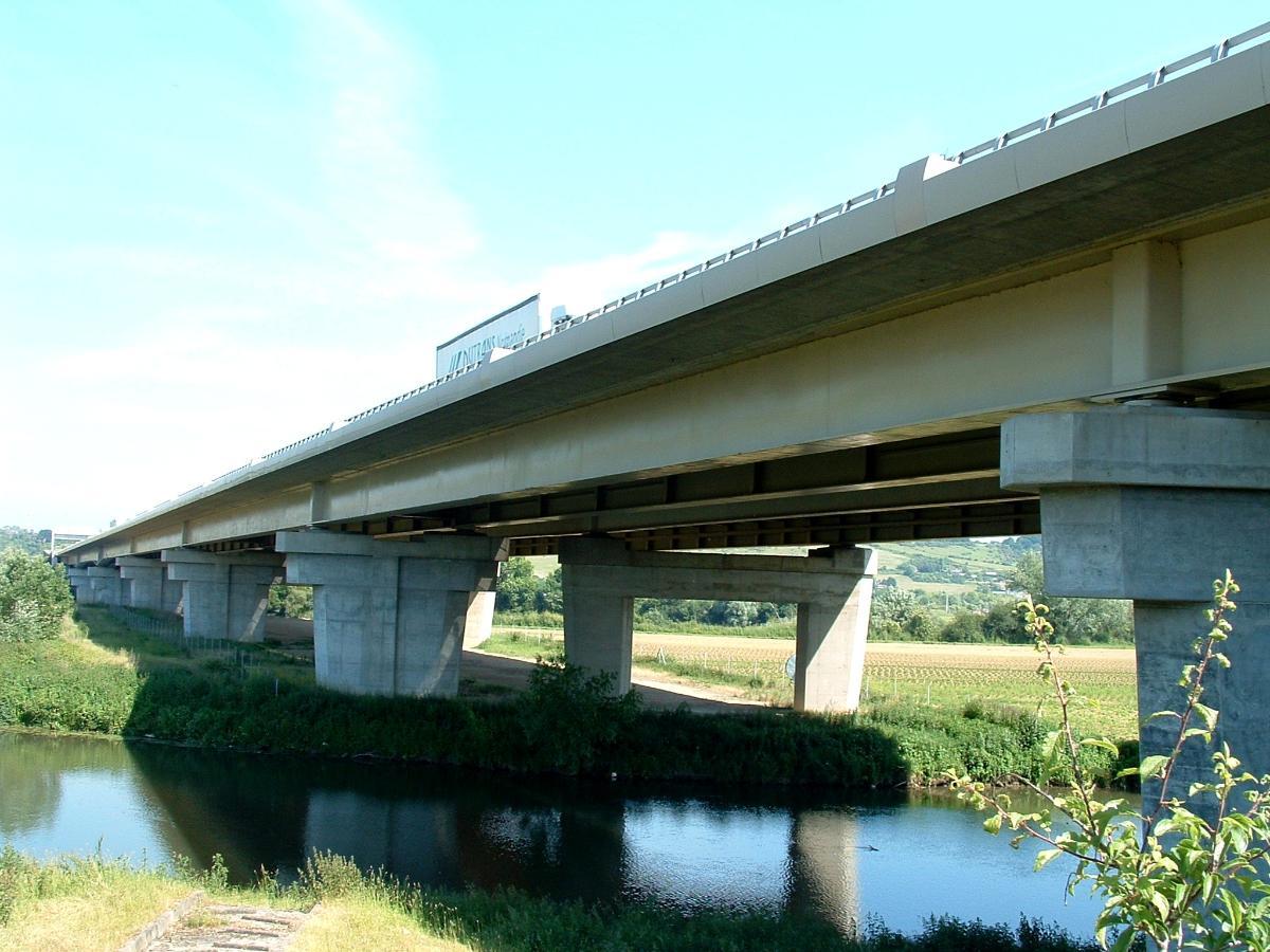 Autoroute A13Criquebeuf Viaducts.