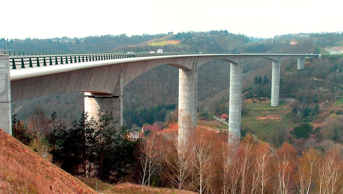 Autoroute A89 - Viaduc de Tulle