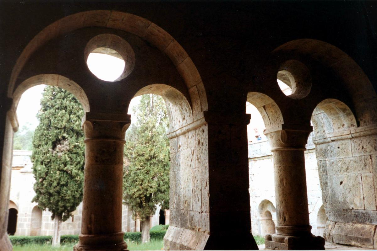 Abbaye du ThoronetCloître