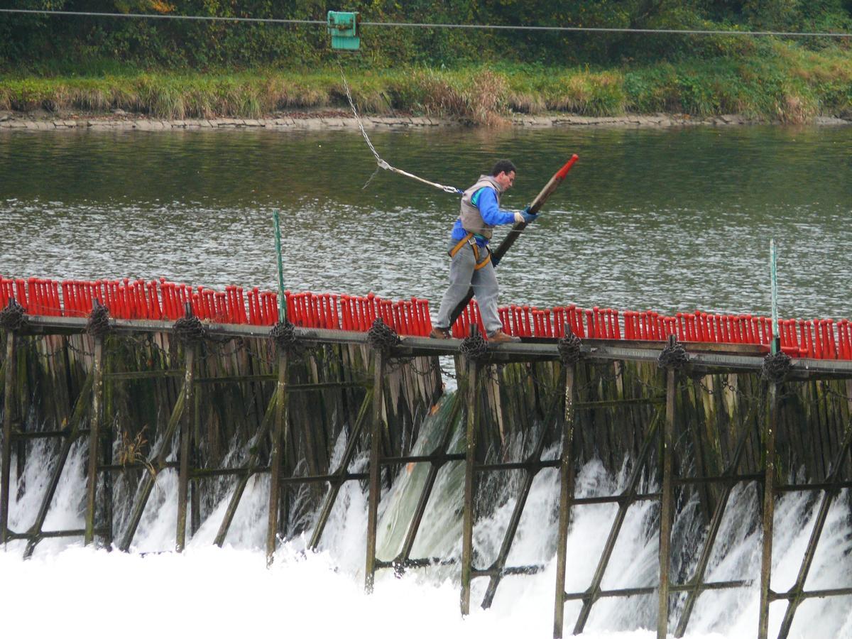Givet - Staudamm Quatre Cheminées