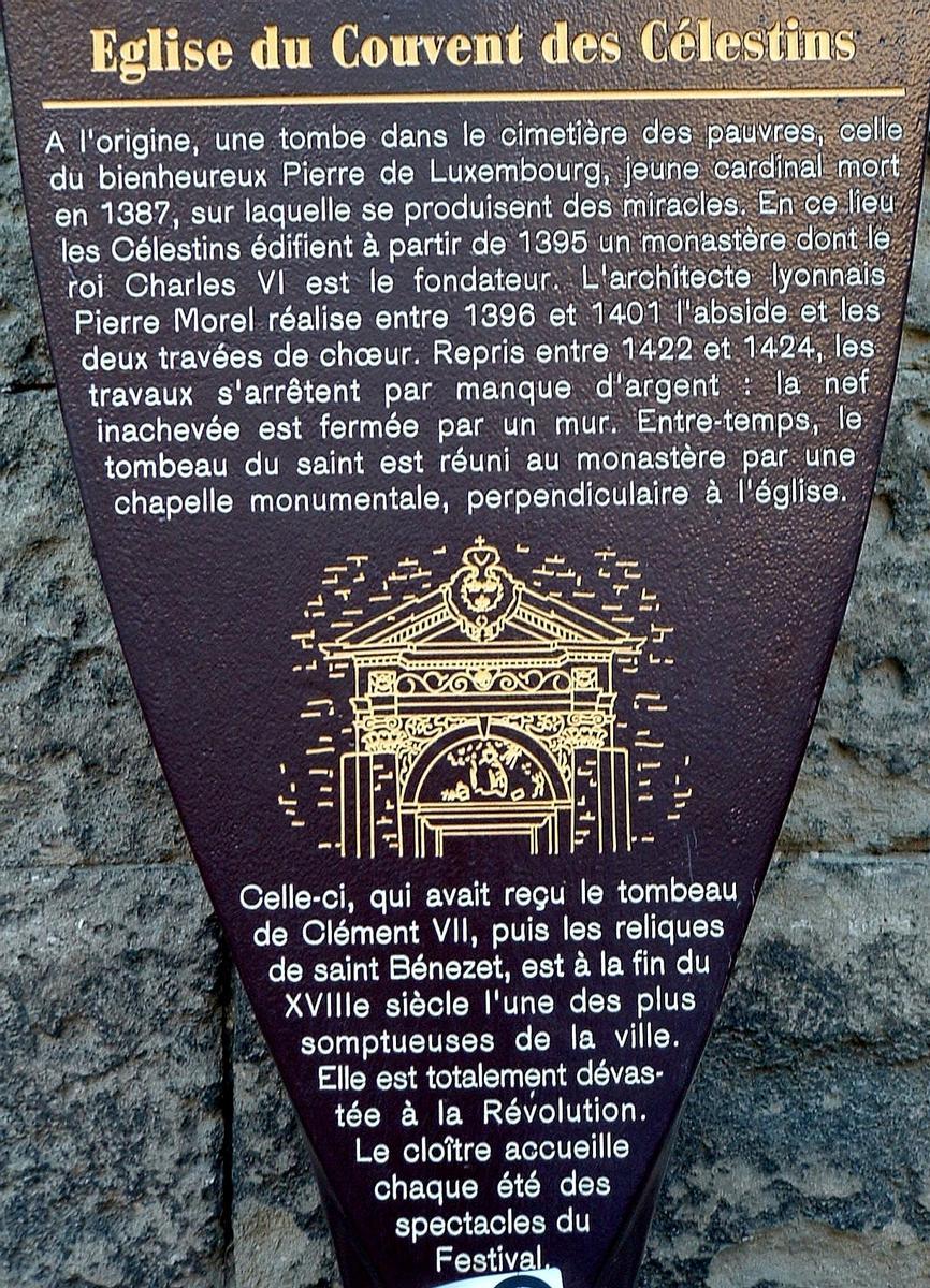 Couvent des Célestins, Avignon.