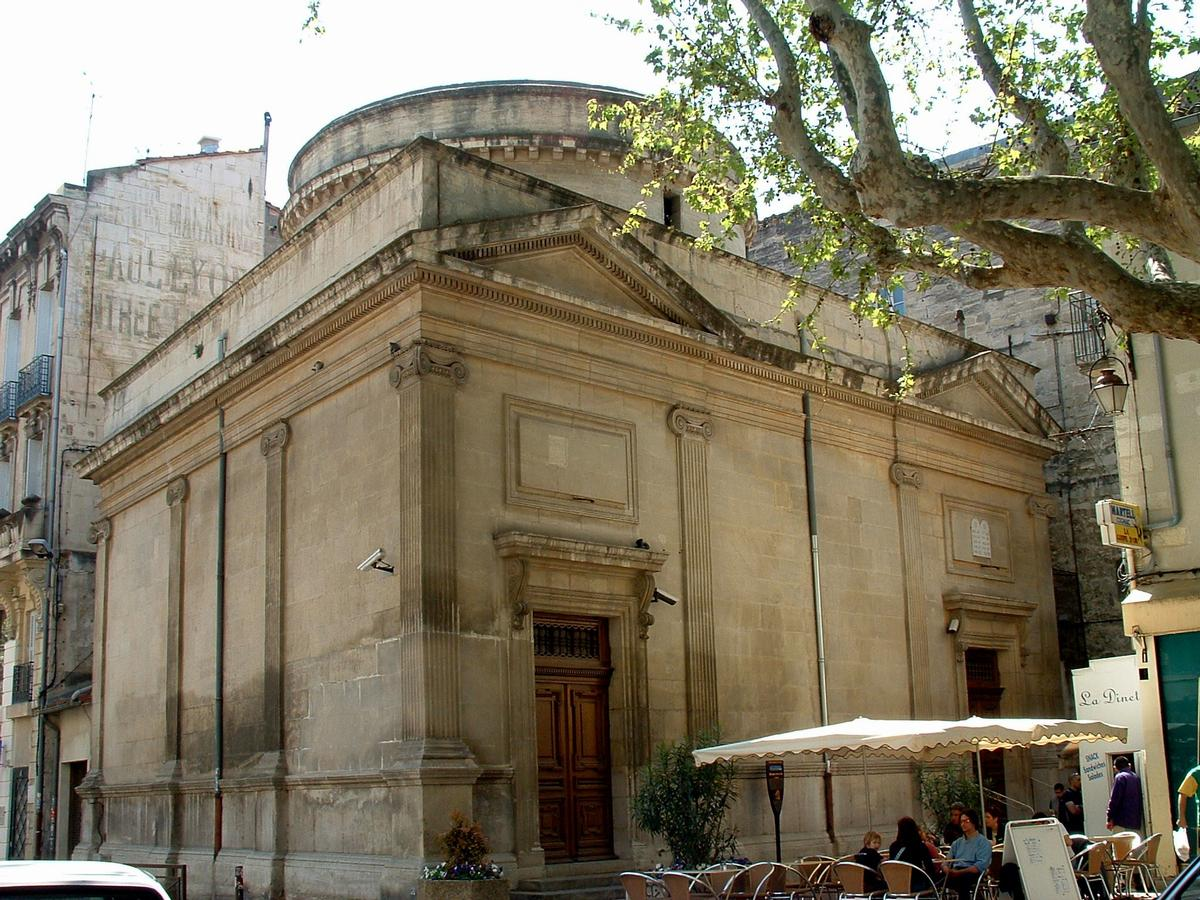 Церкви Авиньона - синагога