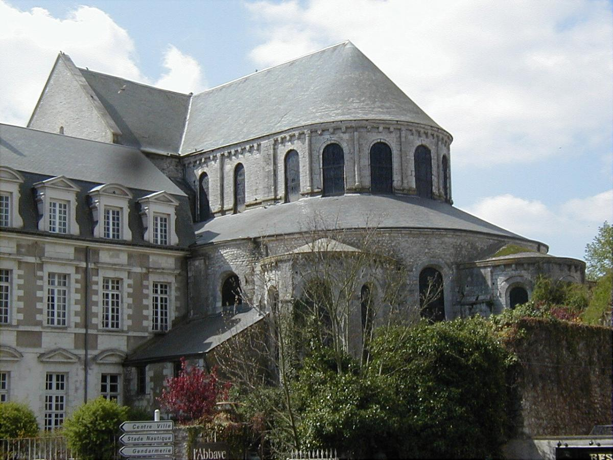 Beaugency - Eglise abbatiale Notre-Dame.
