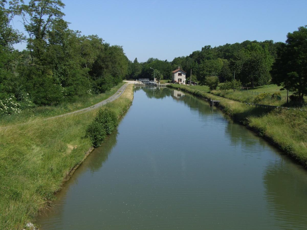 Briare Canal - Dammarie-sur-Loing Lock