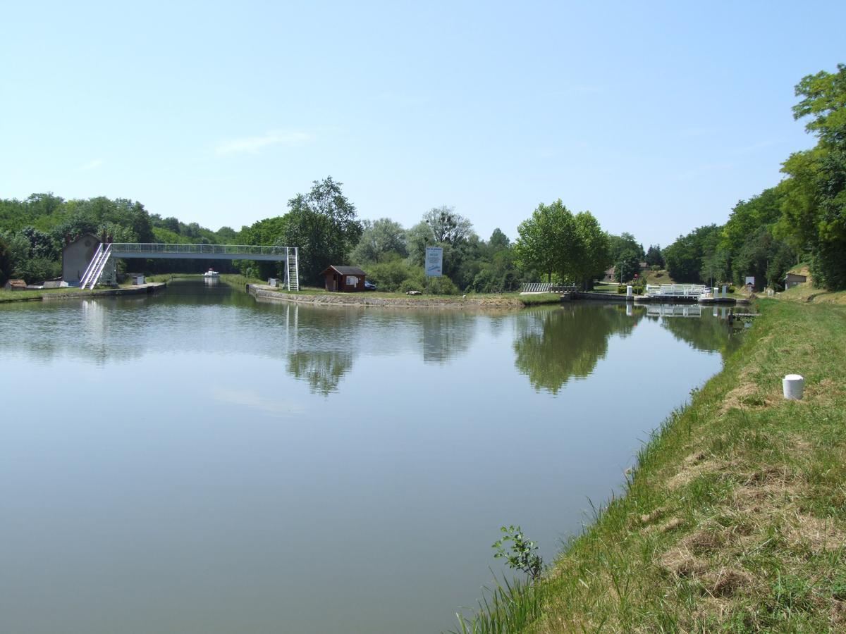 Briare-Kanal - Schleuse Cognardière
