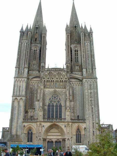 Coutances Cathedral.