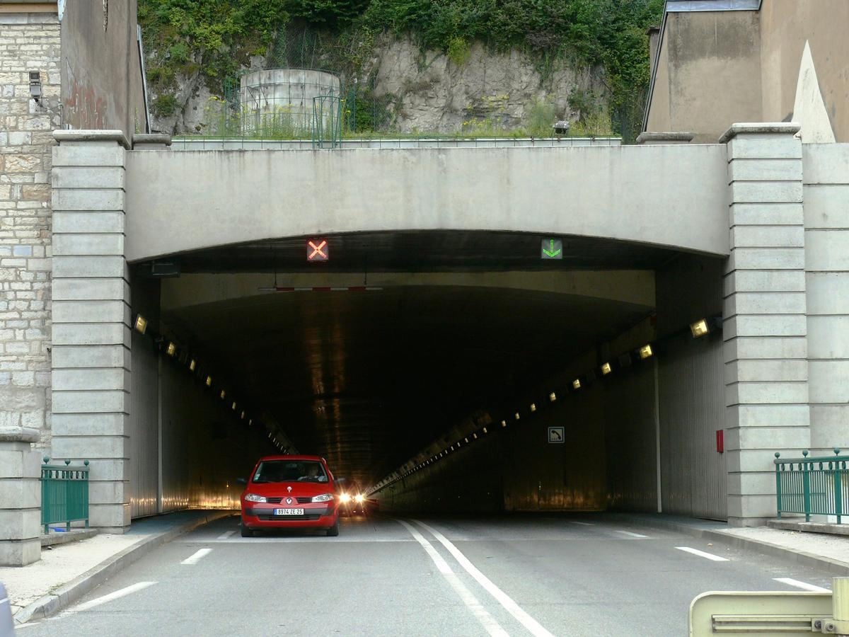 Road Tunnel below the Besançon Citadel