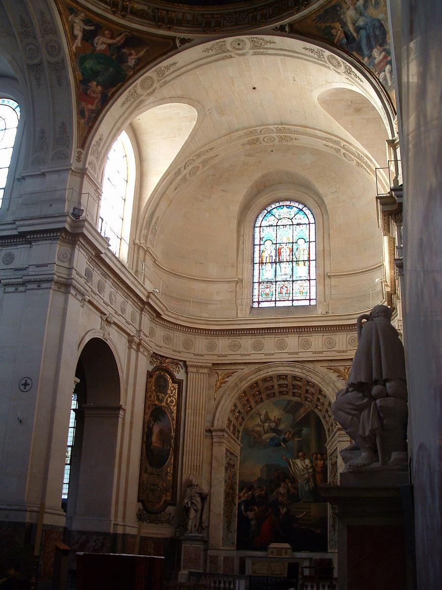 Eglise Saint-Roch - Transept gauche