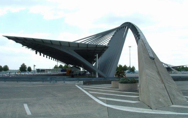 Autoroute A5.Eprunes Toll Gate.