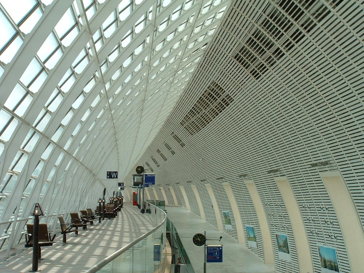 Gare Avignon-TGVIntérieur de la gare