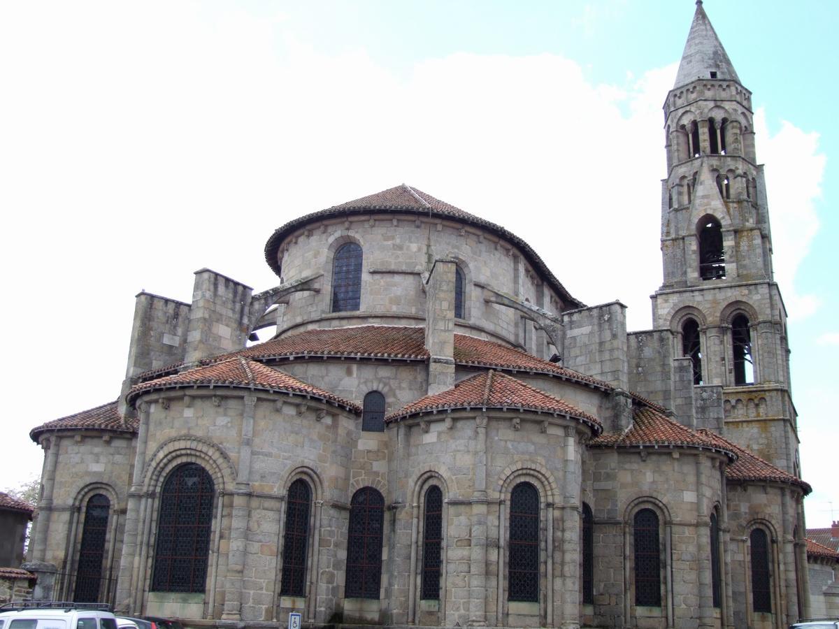 Saint-Léonard-de-Noblat - Collégiale Saint-Léonard - Chevet et clocher