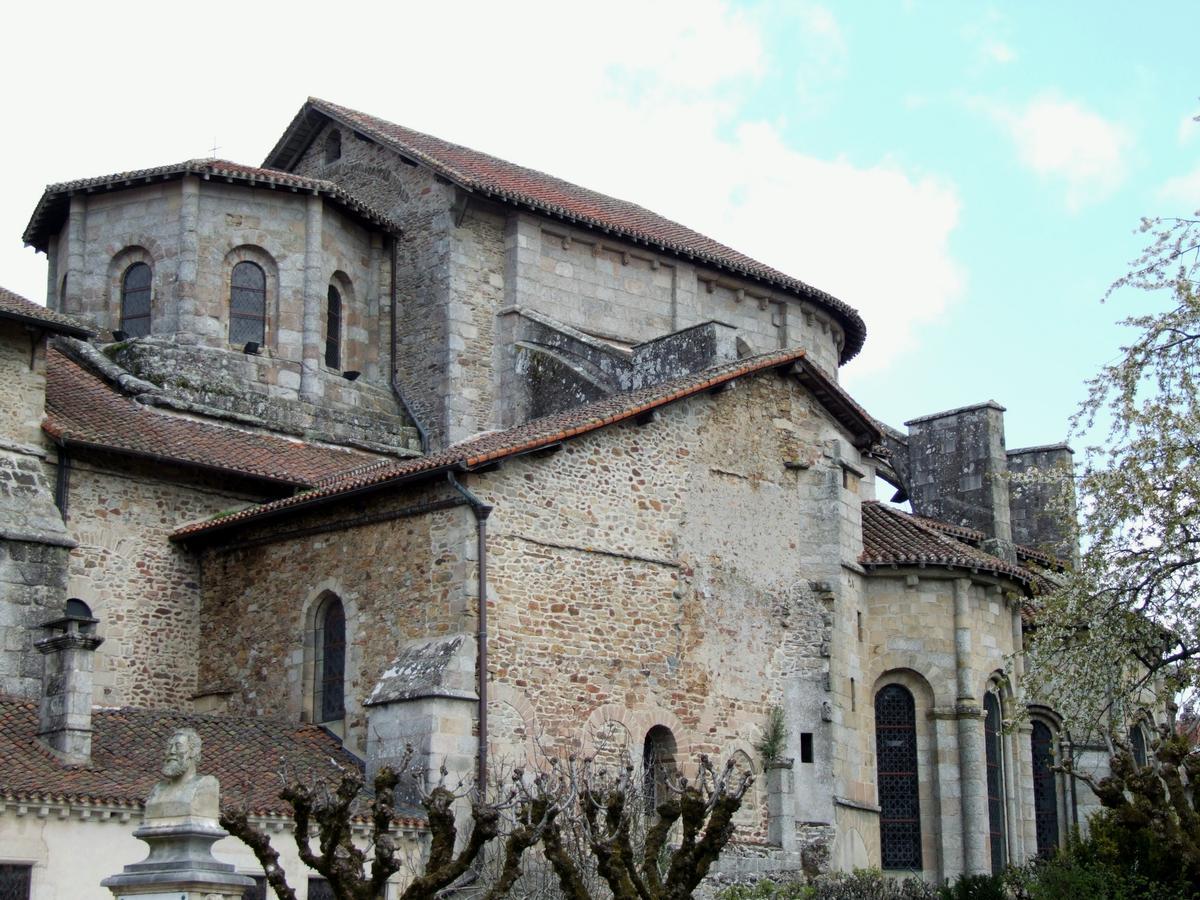Saint-Léonard-de-Noblat - Collégiale Saint-Léonard - Choeur vu de l'extérieur