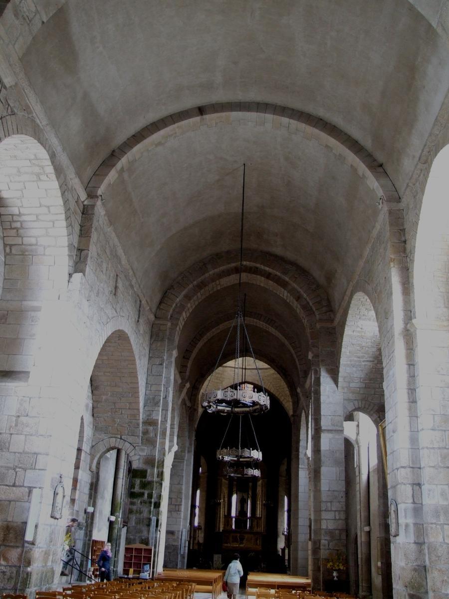 Saint-Léonard-de-Noblat - Collégiale Saint-Léonard - Nef