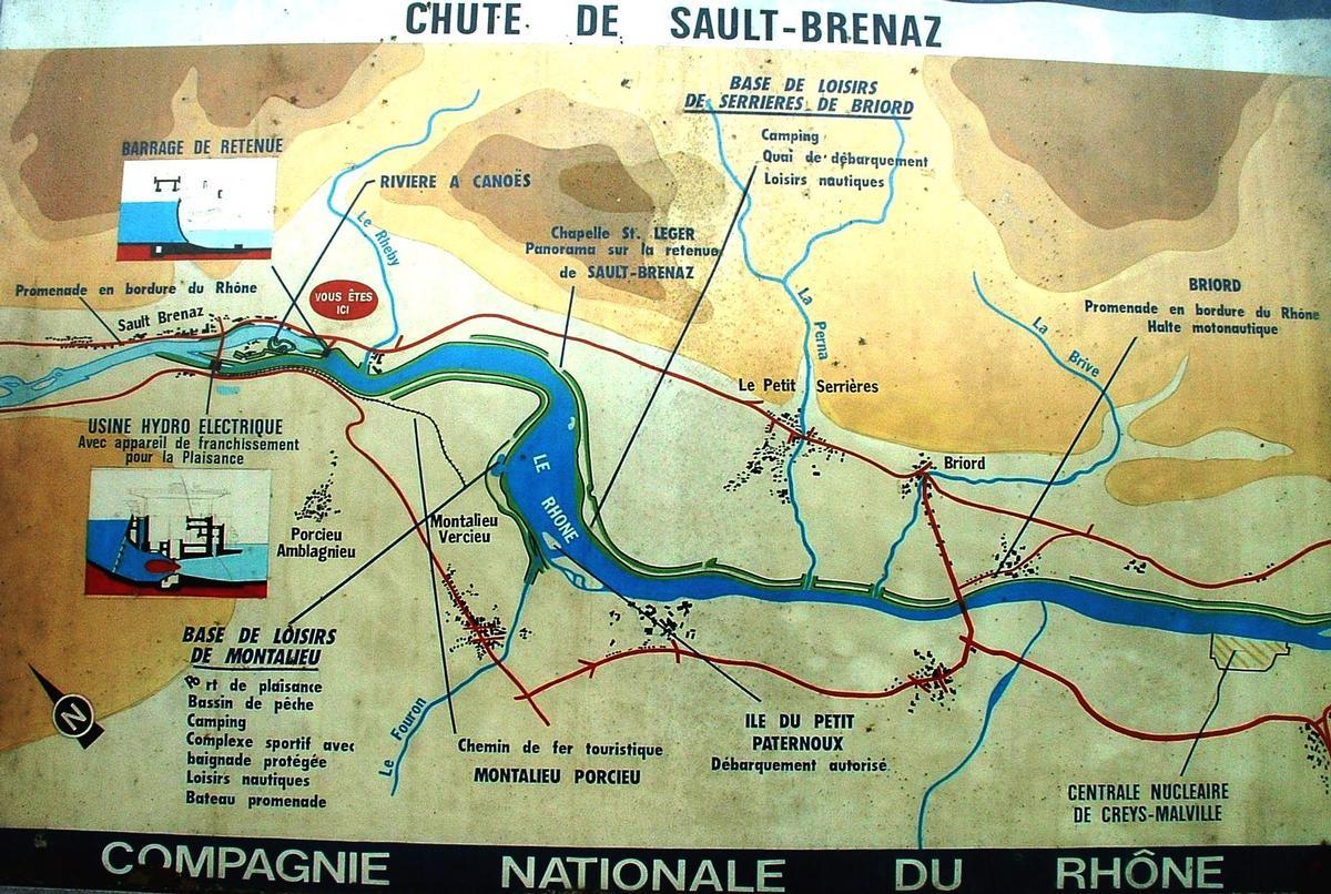 Sault-Brénaz Hydraulic Project