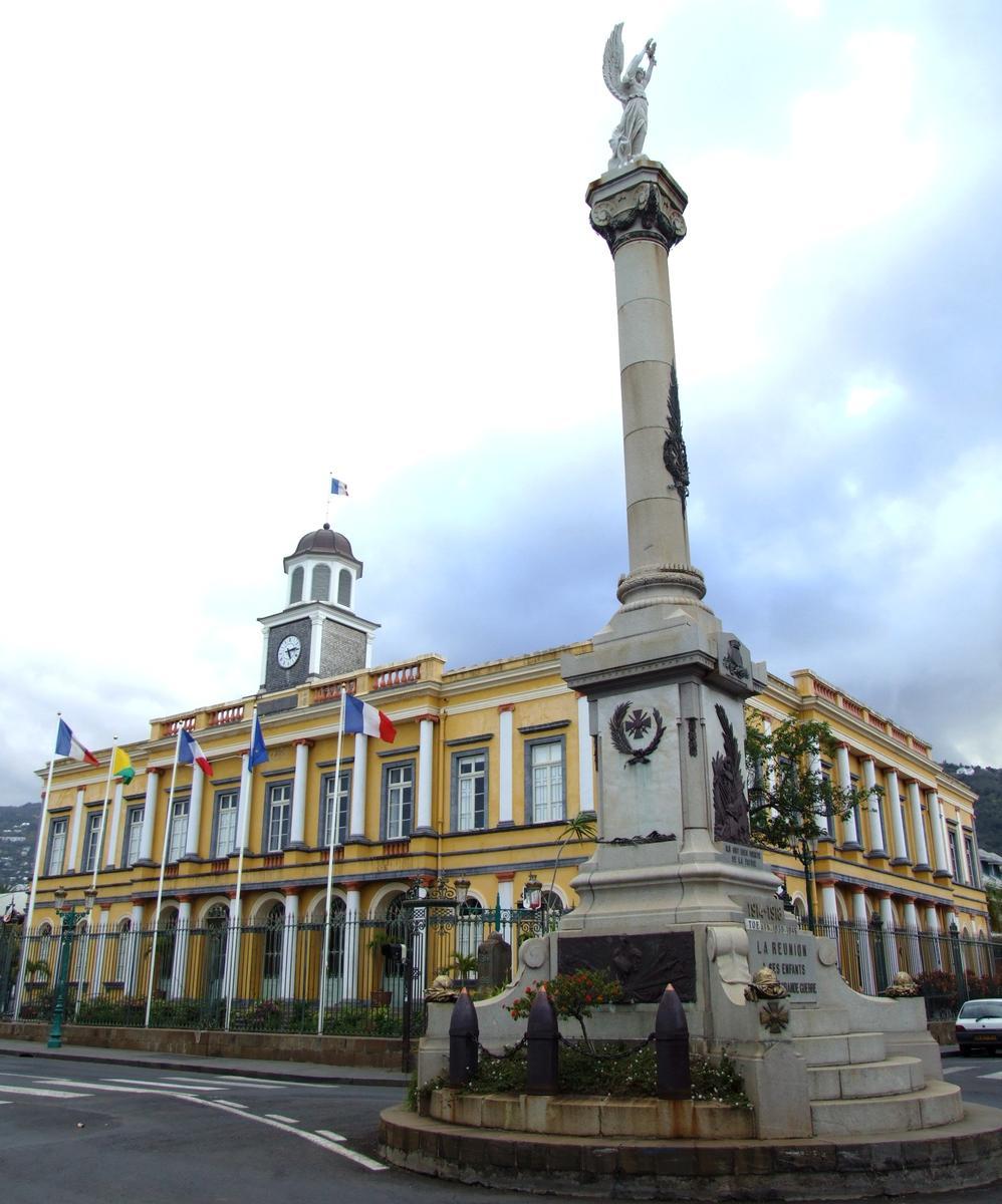 Ancien h tel de ville saint denis saint denis 1860 structurae - Piscine pierre de coubertin saint denis ...