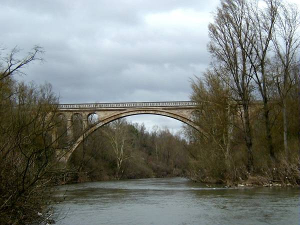 Viaduc Séjourné sur l'Agout, Lavaur.