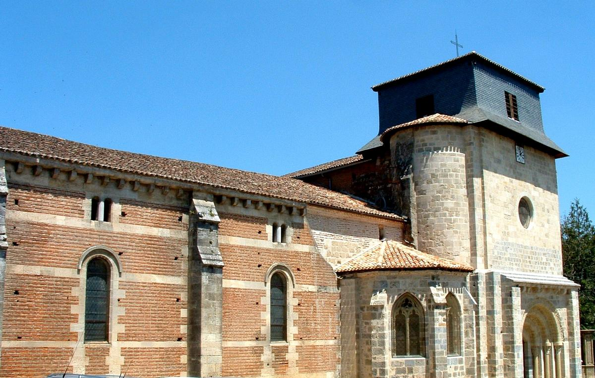 Saint-Vincent Church, Le Mas d'Agenais.