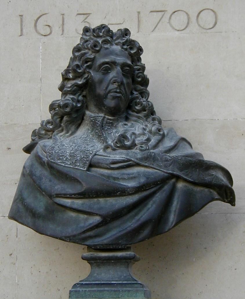 Buste de Le Nôtre au jardin des Tuileries