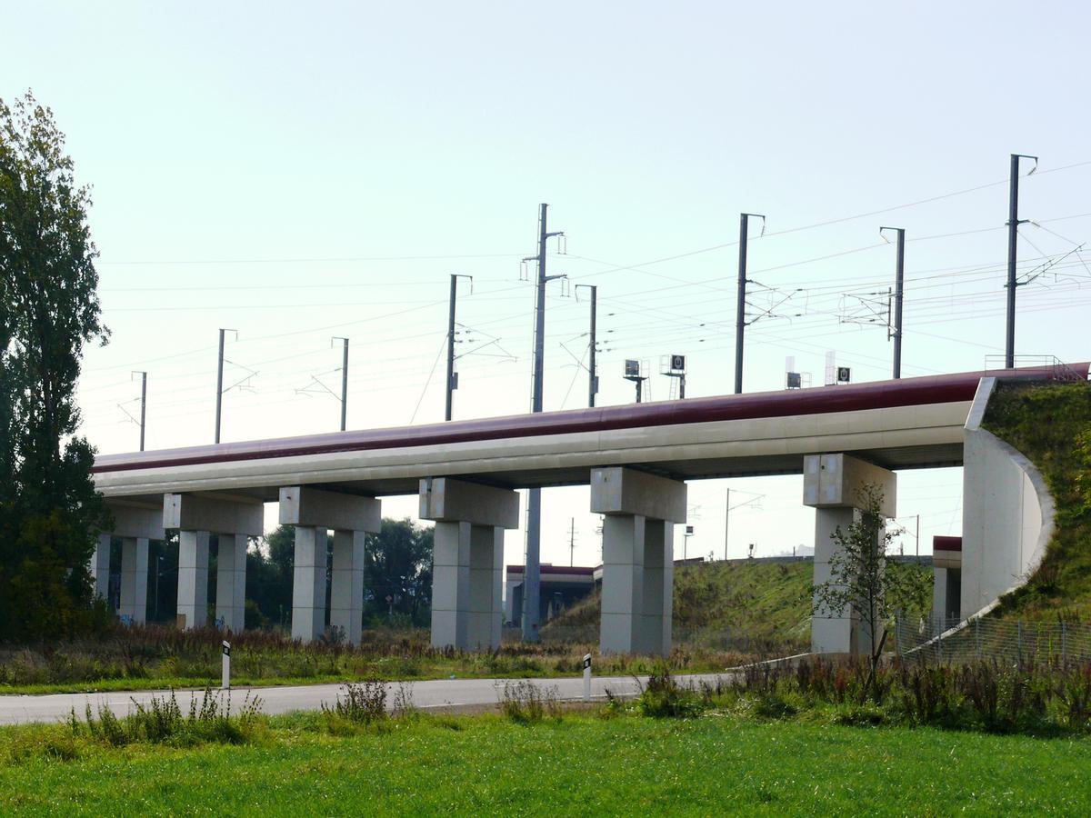 LGV Est-Européenne - Pont-rail de Vandières