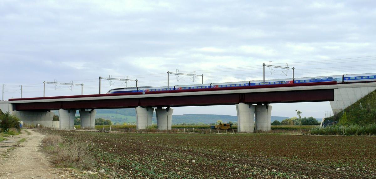 LGV Est-Européenne - Ouvrage de décharge de la Moselle