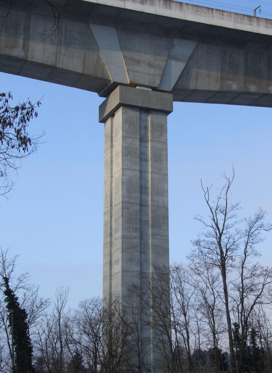 Image no. 77828 LGV Rhône-Alpes - Viaduc de La Costière