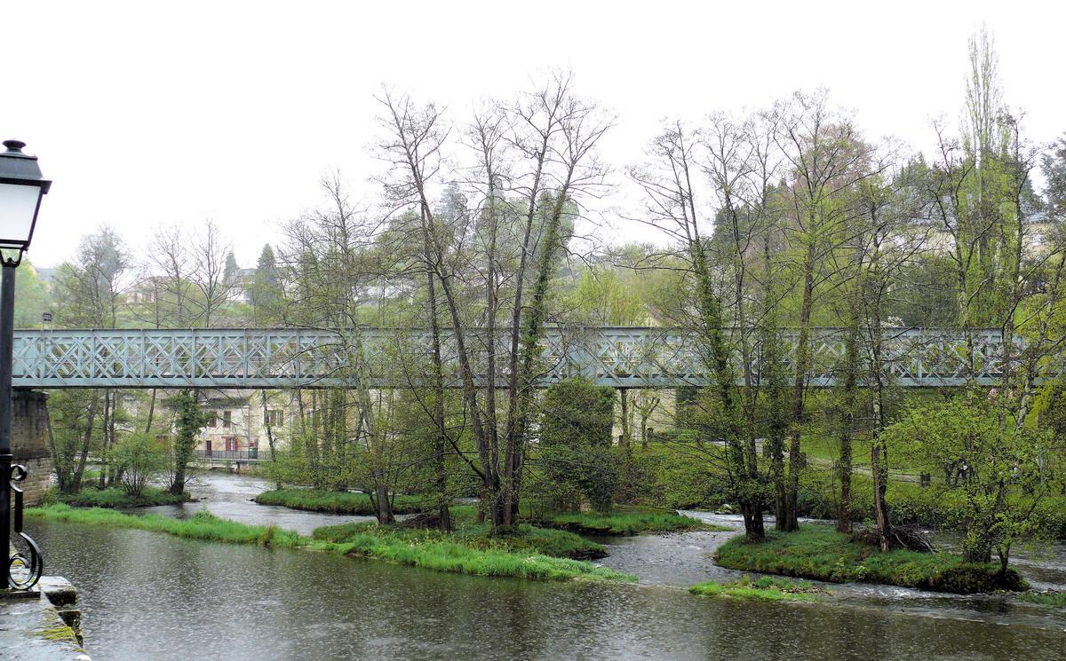 Limoges - Meymac Railroad Line – Viaduc d'Eymoutiers