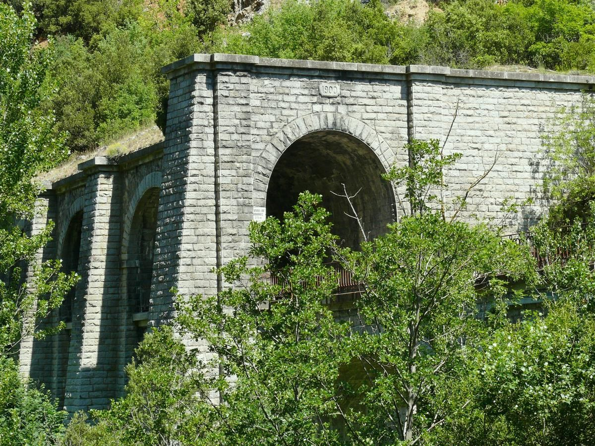 Railroad Line Quillan-Rivesaltes – Bourrec Tunnel