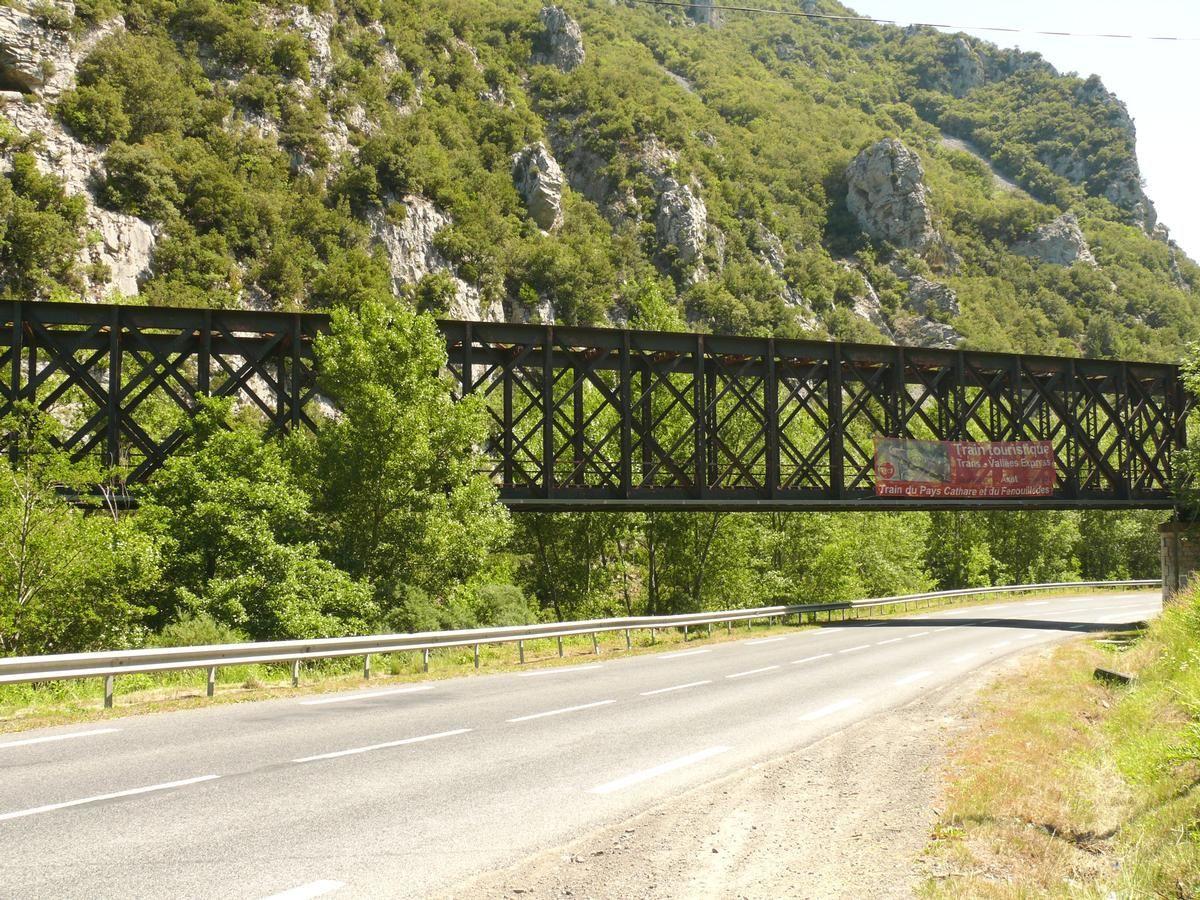 Railroad Line Quillan-Rivesaltes – Aude Viaduct