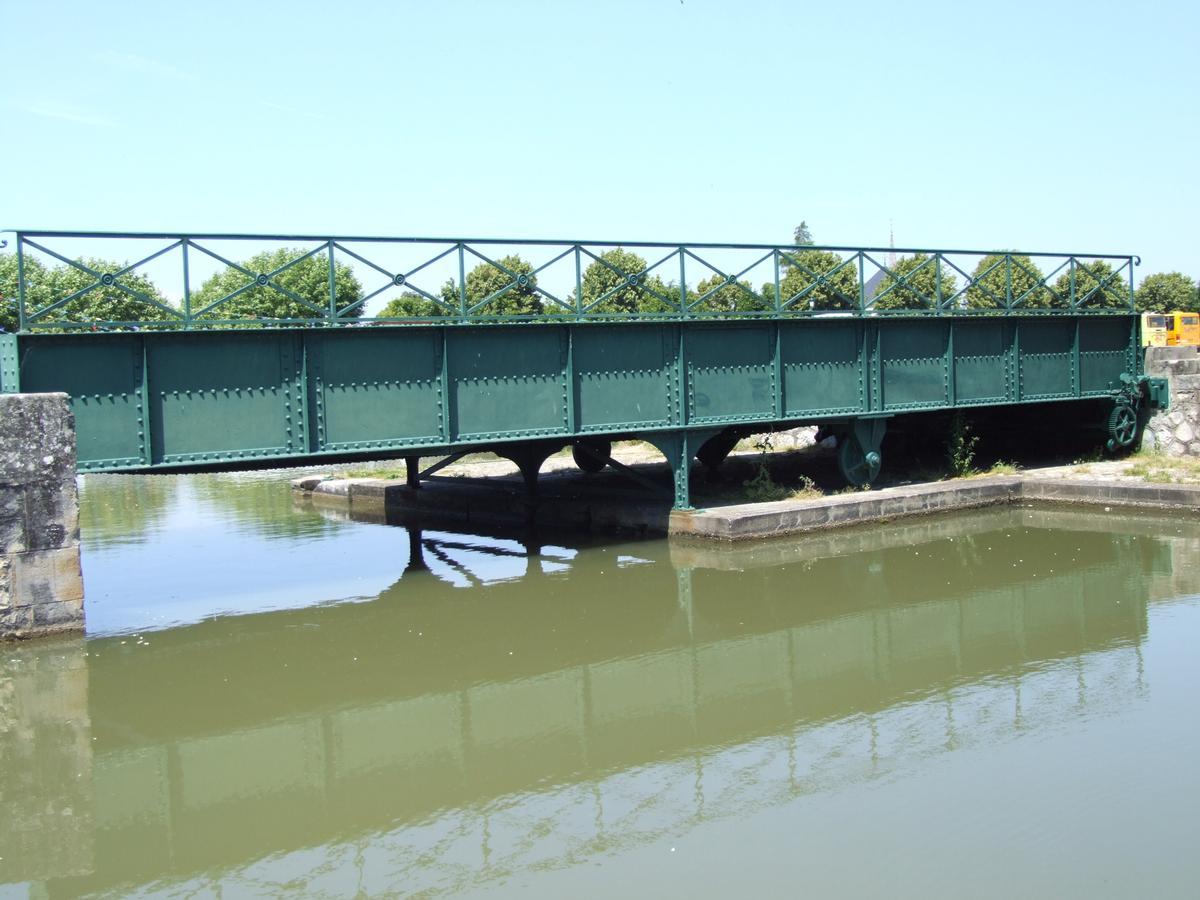 Hafendrehbrücke Briare