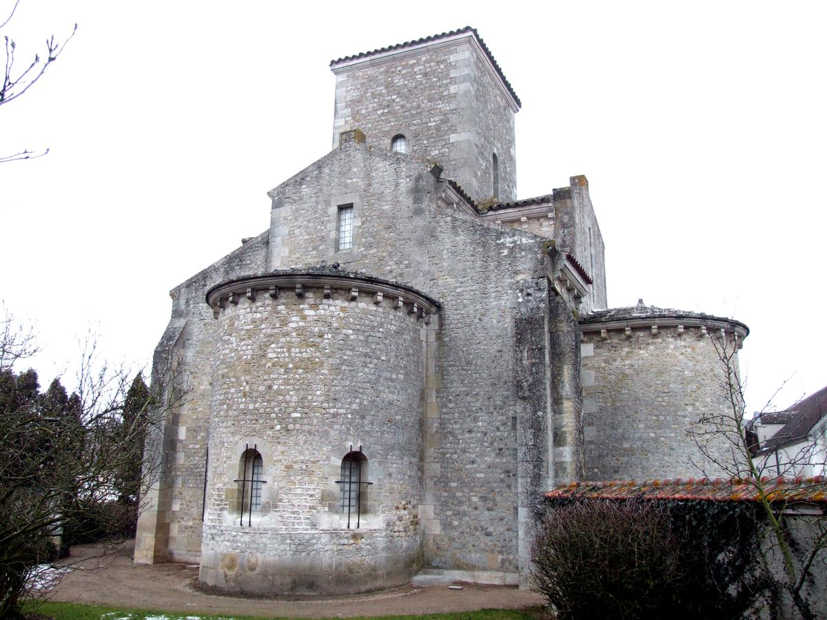 Carolingian Oratory at Germigny-des-Près