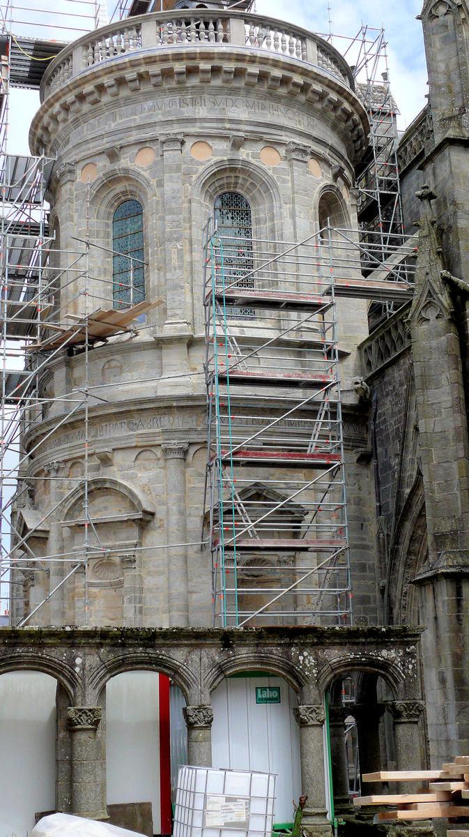 Fiche média no. 149802 Vannes - Cathédrale Saint-Pierre - Chapelle Renaissance de l'archidiacre Jean Daniélo, chapelle du Saint-Sacrement, aujourd'hui, chapelle Saint-Vincent-Ferrier