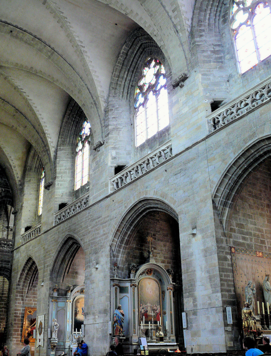 Vannes - Cathédrale Saint-Pierre - Nef