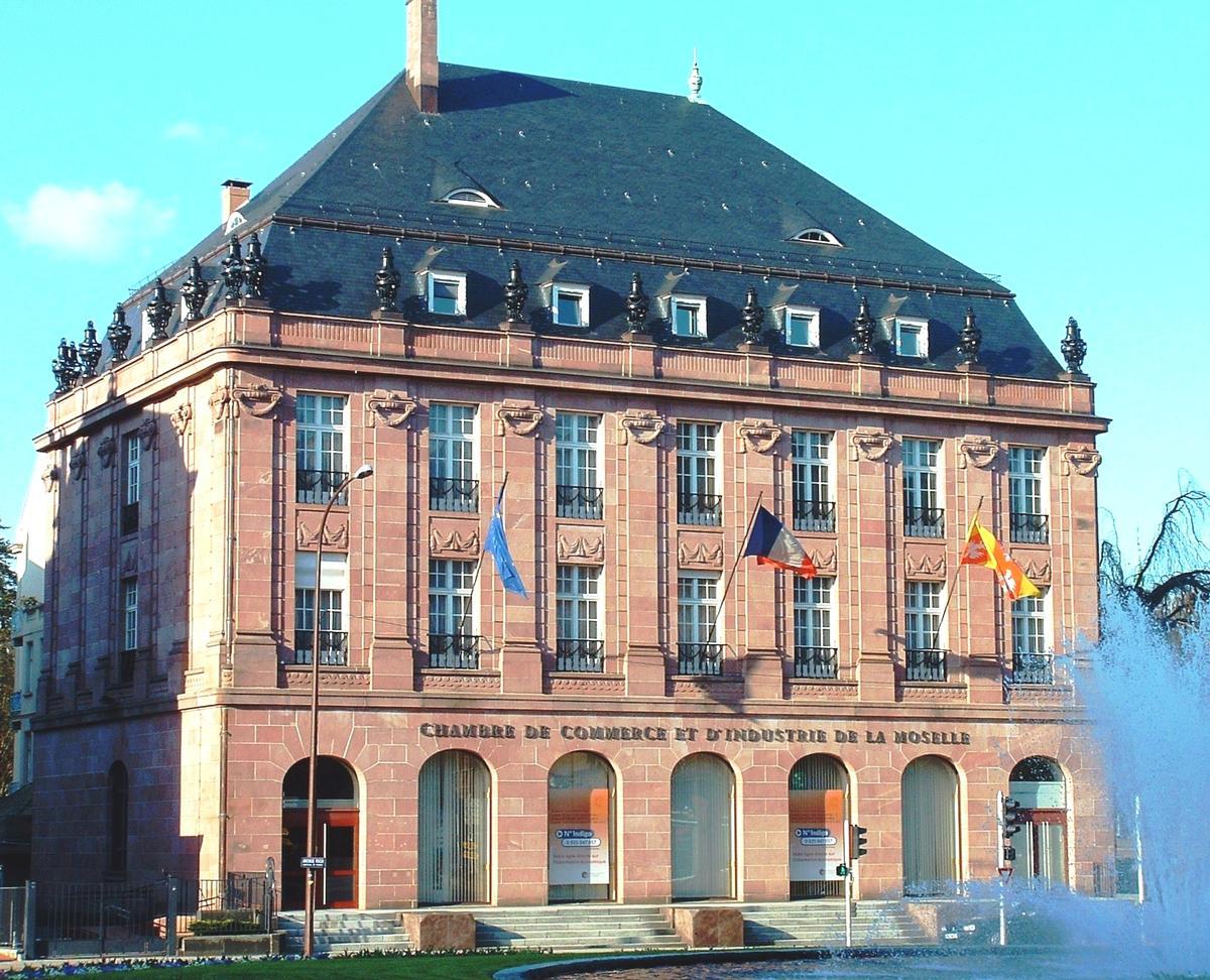 Chambre de commerce et d 39 industrie de la moselle metz for Chambre internationale de commerce